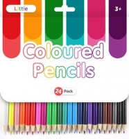LITTLE COLOURED PENCILS 24 PC - Click for more info