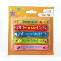 LITTLE REWARD BANDS SUPER STAR 5 PC - Click for more info