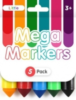 LITTLE CHUNKY MARKERS 5 PC - Click for more info