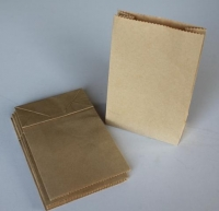 PAPER GIFT BAG BROWN 140 x 90mm 20 PC - Click for more info