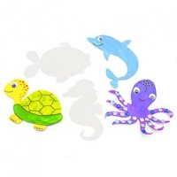 LITTLE PAPER SHAPES SEA LIFE 30 PC ^ - Click for more info