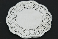 PAPER DOILIES SILVER 180mm 50 PC - Click for more info