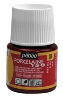 PEBEO PORCELAINE 150 45ML RUBY RED # - Click for more info
