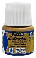 PEBEO SETACOLOR SHIMMER GOLD 45mL - Click for more info