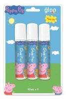 PEPPA PIG GLUE PEN 30ML 3PC  - Click for more info
