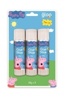PEPPA PIG GLUE STICK 25 GM X 3 PC * - Click for more info