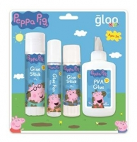 PEPPA PIG GLUE MULTIPACK 4 PC # - Click for more info