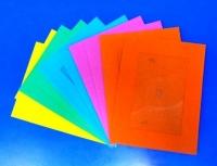 PAPER FRAMES W/WINDOW MULTI 10 PC - Click for more info