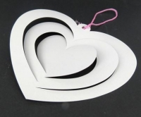 PAPER SPIRAL HEART SHAPE 10 PC* - Click for more info