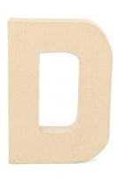PAPER MACHE LETTER #D 20cm H/S 1 PC # - Click for more info