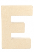 PAPER MACHE LETTER #E 20CM H/S 1 PC # - Click for more info