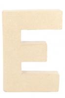 PAPER MACHE LETTER #E 20cm H/S 1 PC # - Click for more info