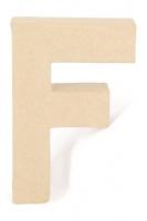 PAPER MACHE LETTER #F 20cm H/S 1 PC # - Click for more info