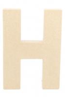PAPER MACHE LETTER #H 20cm H/S 1 PC # - Click for more info