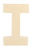 PAPER MACHE LETTER #I 20cm H/S 1 PC # - Click for more info