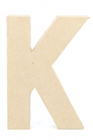 PAPER MACHE LETTER #K 20CM H/S 1 PC # - Click for more info
