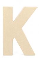 PAPER MACHE LETTER #K 20cm H/S 1 PC # - Click for more info