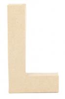 PAPER MACHE LETTER #L 20cm H/S 1 PC # - Click for more info