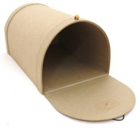 PAPER MACHE MAILBOX LARGE # - Click for more info