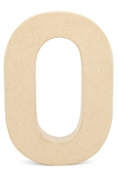 CRAFTSMART PAPER MACHE NUMBER #0 - 20cm 1 PC # - Click for more info
