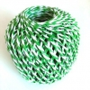 PAPER ROPE BALL 2-PLY GREEN/WHITE 20M - Click for more info