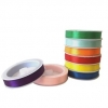 SATIN RIBBON SET 8mm X 7.6m SET OF 8 - Click for more info