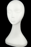 DECOFOAM HEAD LADY 1 PC # - Click for more info