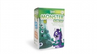 GLOO KIDS SLIME KIT MONSTER 2 X 250mL # - Click for more info
