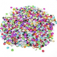 LITTLE SEQUIN CUP MULTI 8mm 50 GM ^ - Click for more info