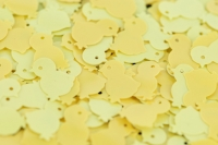 SEQUIN CHICKENS YELLOW 50 GM - Click for more info