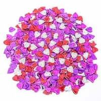 LITTLE SEQUINS HEARTS MULTI 50 GM ^ - Click for more info