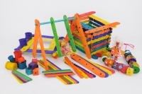 LITTLE CONSTRUCTION VALUE PACK COLOURED 1,000 PC - Click for more info