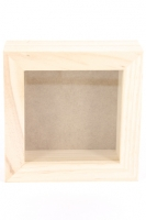 WOODEN BOX MEMORY SML 125 X 125MM 1 PC # - Click for more info