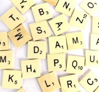 WOODEN LETTER TILES 93 PC/PKT - Click for more info