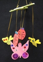 WOOD MOBILE MINI BEASTS - MAKES 10* - Click for more info