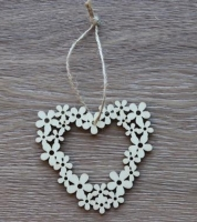 WOOD WREATH HEART W/HANGER 10 PC - Click for more info
