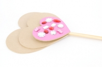 WOODEN WAND SML HEART 1 PC # - Click for more info
