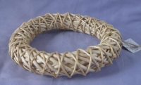 CANE WREATH W JUTE HANGER 30CM # - Click for more info